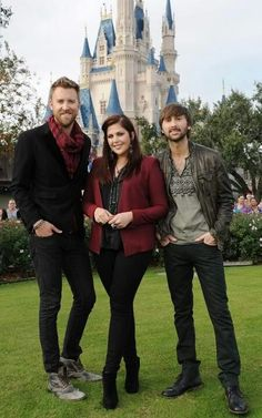 Lady Antebellum and WDW...too favorites!