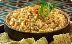 Roasted Corn and Green Chili Cheese Spread - Better Than Bouillon Appetizer Dips, Appetizer Recipes, Salad Recipes, 1905 Salad Recipe, Better Than Bouillon Recipe, Baked Onions, Roasted Corn, Cheese Spread