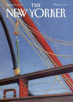 New Yorker cover - June 22, 1992 (Gretchen Dow Simpson). I just had this framed, beautiful!!