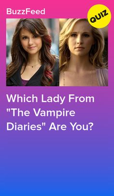 """Which Lady From """"The Vampire Diaries"""" Are You? No matter who you get, you're a badass. Vampire Quiz, Vampire Diaries Quiz, Vampire Diaries Outfits, Vampire Dairies, Vampire Diaries The Originals, Tv Show Quizzes, Fun Quizzes, Random Quizzes, Harry Potter Movie Quiz"""