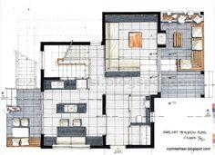 Autocad, Markers, Diagram, Floor Plans, How To Plan, Interior, Sharpies, Indoor, Marker