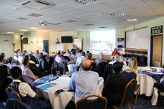 Sue Vernon presenting at Driving Through the Ages - Leicester Racecourse, 2015