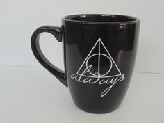 HP Always. coffee mug by thelittlevinylsaur on Etsy, $20.00.