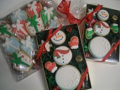 Inspiration picture of Christmas Snowman Cookie Sets | Flickr - Photo Sharing!