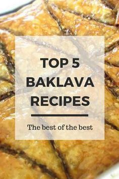 Top 5 Baklava Recipes – Real Greek Recipes The best recipes for making one of the world's best desserts. The Authentic Greek Baklava. Greek Desserts, Greek Recipes, Fun Desserts, Delicious Desserts, Syrian Recipes, Southern Desserts, Pastry Recipes, Sweets Recipes, Cooking Recipes