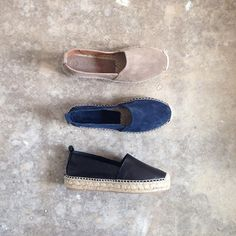 8f1a14ed91b3 BACK IN STOCK Our  Falcon   espadrilles in Black leather