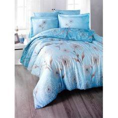 Una dintre cele mai de lux  este gama Satin Bumbac , cunoscuta si ca Satin Deluxe. Lenjeriile din aceasta gama ofera un confort exceptional datorita materialului de inalta calitate si foarte fin la atingere. De asemenea, tesatura este foarte rezistenta atat la rupere cat si la decolorare, imprimeul fiind realizat cu o tehnologie de ultima generatie. Bed Sheets, Comforters, Blanket, Satin, Furniture, Home Decor, Creature Comforts, Quilts, Decoration Home