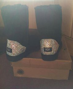 #Sparkley UGGs  Boots #2dayslook #Boots style #BootsfashionBoots  www.2dayslook.com