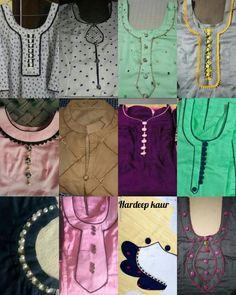 Best 12 Things to wear – SkillOfKing. Churidhar Neck Designs, Chudidhar Designs, Neck Designs For Suits, Sleeves Designs For Dresses, Neckline Designs, Dress Neck Designs, Sleeve Designs, Salwar Suit Neck Designs, Kurta Neck Design
