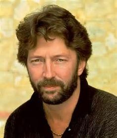 """Eric Patrick Clapton, CBE, (b 30 March 1945): English, Only 3-Time Inductee to Rock n Roll Hall of Fame: 1)solo artist 2) member Yardbirds  & 3) member Cream.  Among most influential guitarists of all time. #2 / Rolling Stone's """"100 Greatest Guitarists of All Time"""" & 4th/ Gibson's """"Top 50 Guitarists of All Time"""". Following death of son Conor, 1991, Clapton's grief in """"Tears in Heaven"""". ~Repinned via Jo Wiest"""