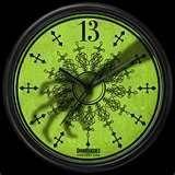Disney Haunted mansion clock