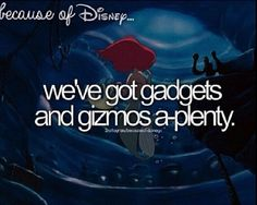 Because of disney. Dinglehopper, if you don't know why it is, your not a true disney person
