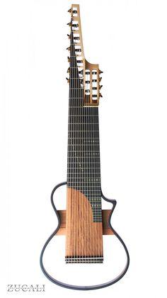 Zucali Guitars - Barocco Silent 14-String