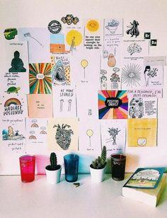 27 ideas bedroom inspo diy wall art for 2019 Inspiration Wand, Decoration Inspiration, Inspiration Boards, Dorm Room Walls, Cute Dorm Rooms, Dorm Room Art, Dorm Room Crafts, Bedroom Inspo, Bedroom Decor