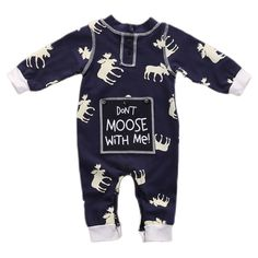 Don't Moose with Me! Romper