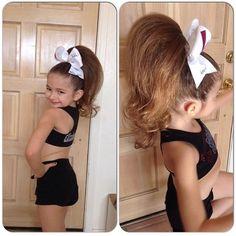 Cheer baby- that hair