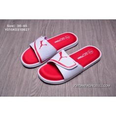 c1acb70c9e53 PUMA Starcat Sfoam Logo Slide Y015K0310627 Red White Leisure Slippers 36-45  Online
