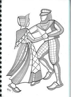 RODRIMAN ..... LRM --------------- Patrones comprados , regalados en encuentros y bajados de Internet . Bobbin Lace Patterns, Embroidery Patterns, Male Face Drawing, Lace Art, Lacemaking, Needle Lace, Diy Crochet, String Art, Vintage Lace