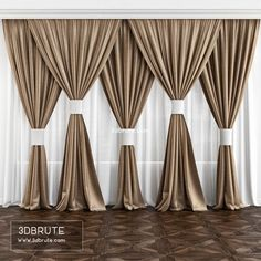 Why Living Room Curtain Styles Are Important to Your House - Life ideas Living Room Decor Curtains, Home Curtains, Window Curtains, Luxury Curtains, Elegant Curtains, Luxury Bedding, Curtain Styles, Curtain Designs, Curtain Ideas
