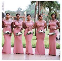 African Bridesmaid Dresses, Burgundy Bridesmaid Dresses Long, Mermaid Bridesmaid Dresses, African Lace Dresses, Wedding Bridesmaid Dresses, African Fashion Dresses, Wedding Party Dresses, Black Bridesmaids, Girls Party Dress