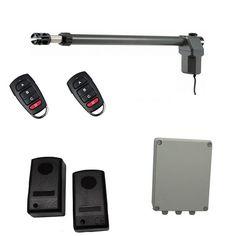 Οικονομικό, πλήρες κιτ μονόφυλλης δεξιάς ανοιγόμενης γκαραζόπορτας το οποίο περιλαμβάνει: ένα μοτέρ MPC SW600 (δεξί), πινακοδέκτη ProfelmNet 2114 σε στεγανό πλαστικό κουτί, σετ ενσύρματα φωτοκύτταρα ασφαλείας και δύο τηλεχειριστήρια. Usb Flash Drive, Electronics, Phone, Telephone, Mobile Phones, Consumer Electronics, Usb Drive