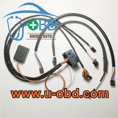 BMW E Series CCC CIC head unit test platform on bench simulator harness. Applied to repairing and testing the BMW CCC CIC i Drive system on bench. Car Ecu, Electronic Control Unit, Head Unit, Bench, Platform, How To Apply, Bmw, Multimedia, Image