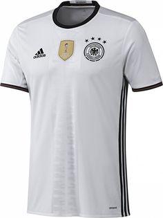 ADIDAS GERMANY EURO 2016 HOME JERSEY White/Black.