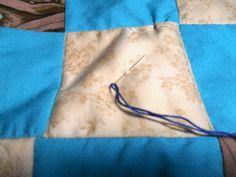 Tie a quilt