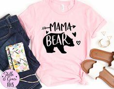 Mama Bear Shirt | Mom Shirt | Mom Birthday Gift | Mama Tee Shirt | Cute Mom Shirt | Mother Birthday GIft | Gift for Mom | Mother's Day Tee Mama Bear Shirt, Cheap Vinyl, Mother Birthday Gifts, Mommy And Me Outfits, Mom Shirts, My Outfit, Gifts For Mom, Colorful Shirts, Tees