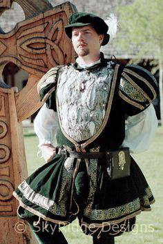 CUSTOM: Men's Nobleman's Outfit; Tudor, Elizabethan, Historic, Renaissance