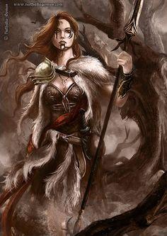 ArtStation - The bringer of Victory, Nathalia Gomes