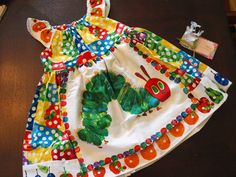 A Very Hungry Caterpillar Dress-7#WorldEricCarle#HungryCaterpillar