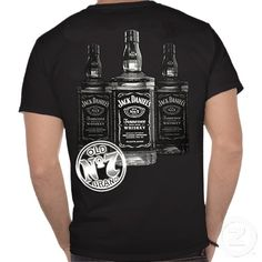 Jack Daniels 3 Bottles Mens T-Shirt