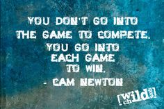 One thing is for sure Cam Newton always has something to say. Here are our top ten Cam Newton quotes. A compilation of the best Cam Newton quotes. Newton Quotes, Games To Win, Cam Newton, Wild Child, Kids Sports, Great Quotes, Leadership, Qoutes, Sayings
