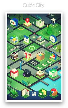 Signa Android UI Design Community — Cubic City Theme by Adidag