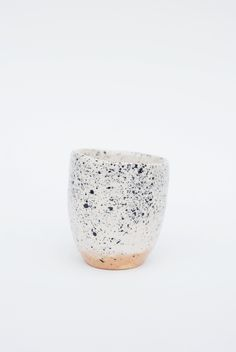 Image of spotty clay cup # 1