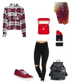 """Taken for V-Day-dee"" by mindless-loyalty ❤ liked on Polyvore featuring Rails, Valfré, Vans, MCM, Alexa Starr, women's clothing, women, female, woman and misses"