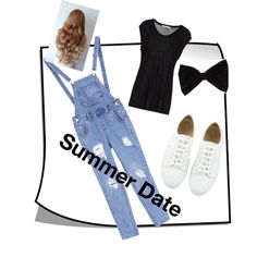 summer denim black casual outfits stake dance