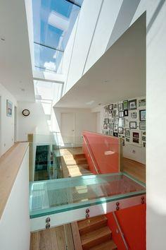 Sunnybank House, Coldingham by Chris Humphreys Photography Ltd Modern Architecture House, Interior Architecture, Interior Design, Style At Home, Glass Floor, Interior Photography, Architectural Photography, Amazing Spaces, Zaha Hadid