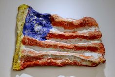 Claes Oldenburg, Flag, 1960
