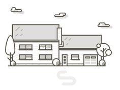 House illustration by Frantisek Kusovsky