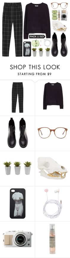 """""""crisp."""" by ameliau22 ❤ liked on Polyvore featuring Monki, MANGO, H&M, American Apparel, Nearly Natural, Forever New, Le Labo, women's clothing, women and female"""