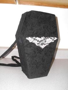 Creepy Coffin Purse