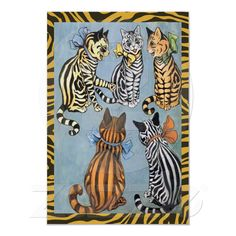 Cat Friends | Louis Wain