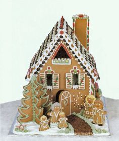 gingerbread house gallery | Sabian Crafts Gallery | Creative Expressions | The Sabian Assembly