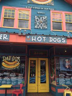 1) Dat Dog, 3336 Magazine St.