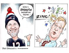 Editorial cartoons and illustrations by Dave Granlund. New England Patriots Merchandise, Afc Championship, Go Pats, Tom Brady, Toms, Baseball Cards, Tampa Bay, Liverpool