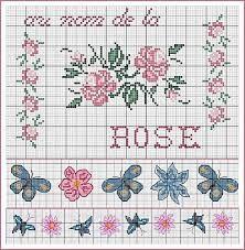 -butterflies-papillons-point de croix-cross stitch-embroidery