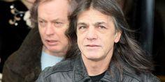 Malcolm Young, 61 ans, est l'un des membres fondateurs d'AC/DC.