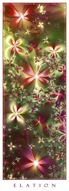 ♥♥ ⊰❁⊱ Elation by deliquescence. ⊰❁⊱ (fractal art)